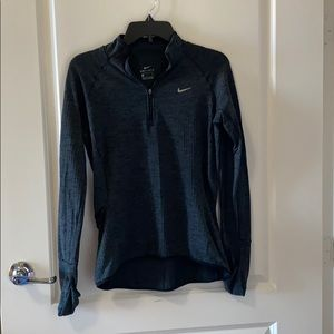 Nike Pro: Fleece-Lined Quarter Zip